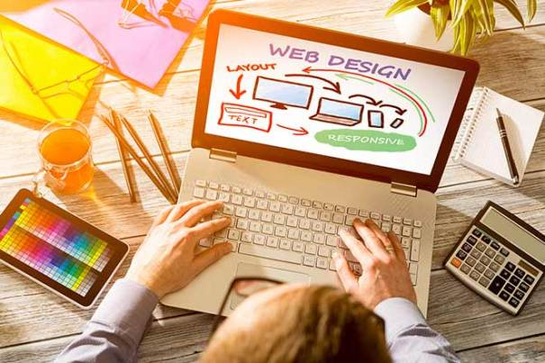 Website design and User Experience